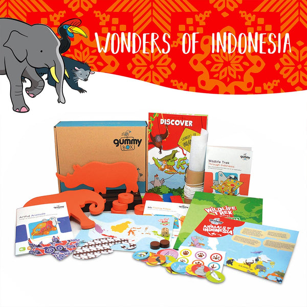 Wonders of Indonesia Standard Box – GUMMY BOX