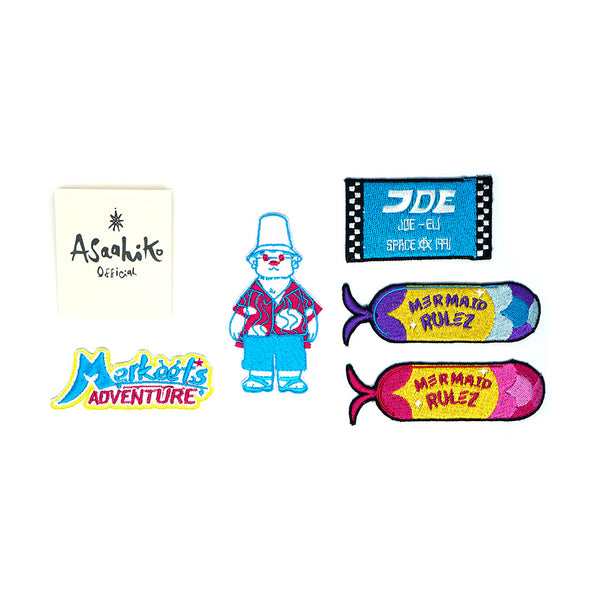 Merkeet Adventure Logo Patch – Asaahiko Official