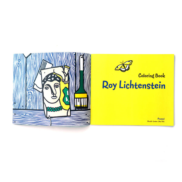 Coloring Book Lichtenstein