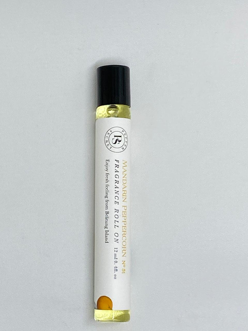 Mandarin Peppercorn Fragrance Roll On 12ml - Pepper Secret