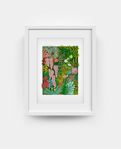 Garden By The Bay Print - Ayang Cempaka