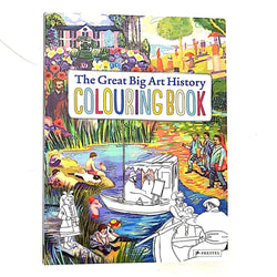 Coloring Book The Great Big Art History