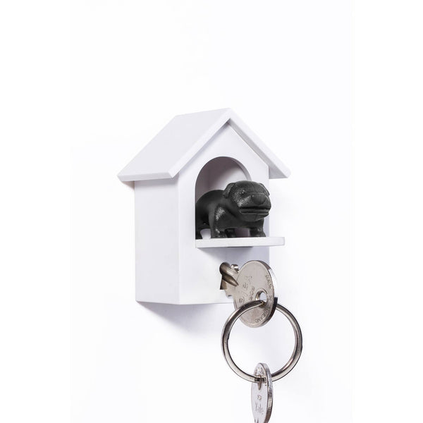 Watch Dog Key Holder Black – Qualy