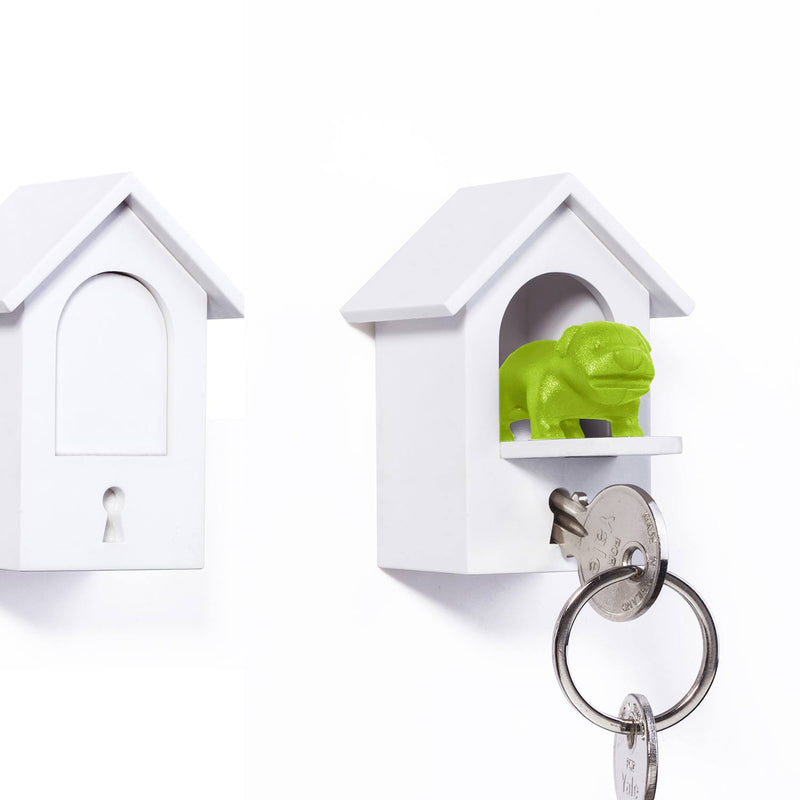Watch Dog Key Holder Green – Qualy