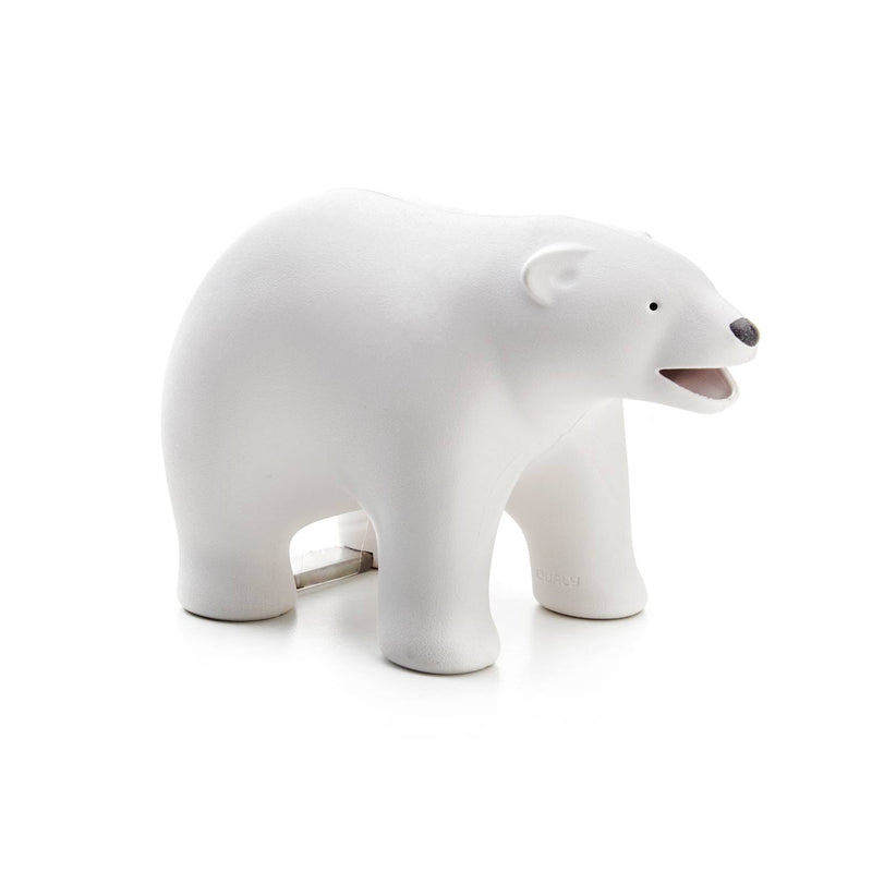 Teddy Bear Tape Dispenser White – Qualy