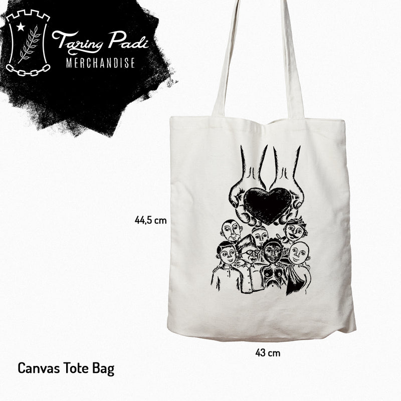 Canvas Totebag - Taring Padi