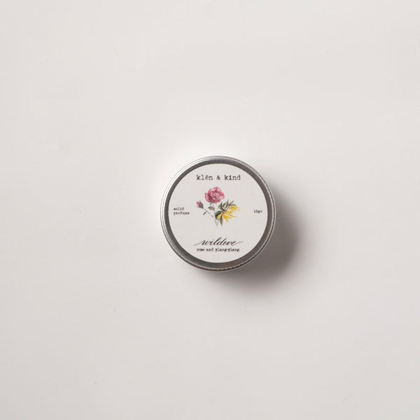 Wildeve Solid Perfume - Klen and Kind