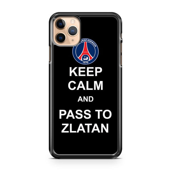 Keep Calm And Pass To Zlatan Ibrahimovic iPhone 11 Pro Max Case Cover
