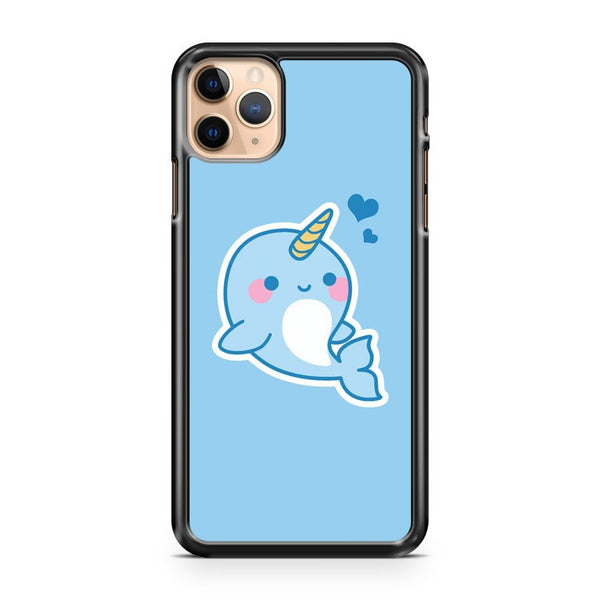 Kawaii Narwhal iPhone 11 Pro Max Case Cover
