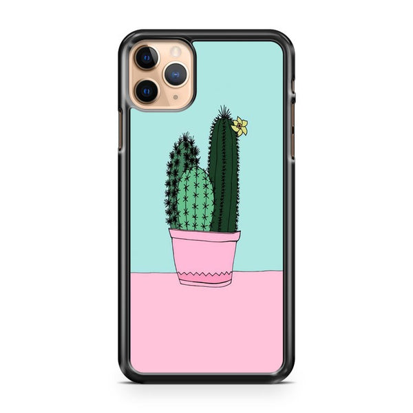 Cactus Cute Art Pattern iPhone 11 Pro Max Case Cover