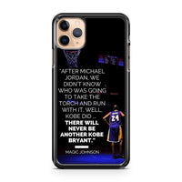 Lakers Star Kobe Bryan Quote iPhone 11 Pro Max Case Cover