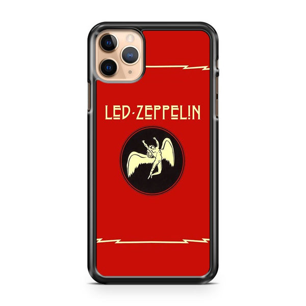 Led Zeppelin Rock Rock Rock N Roll iPhone 11 Pro Max Case Cover