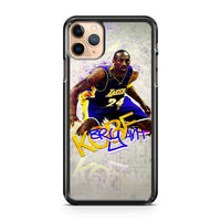 Kobe Bryant Art iPhone 11 Pro Max Case Cover