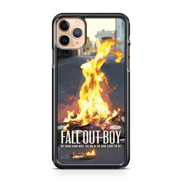 Light Em Up Fall Out Boy iPhone 11 Pro Max Case Cover