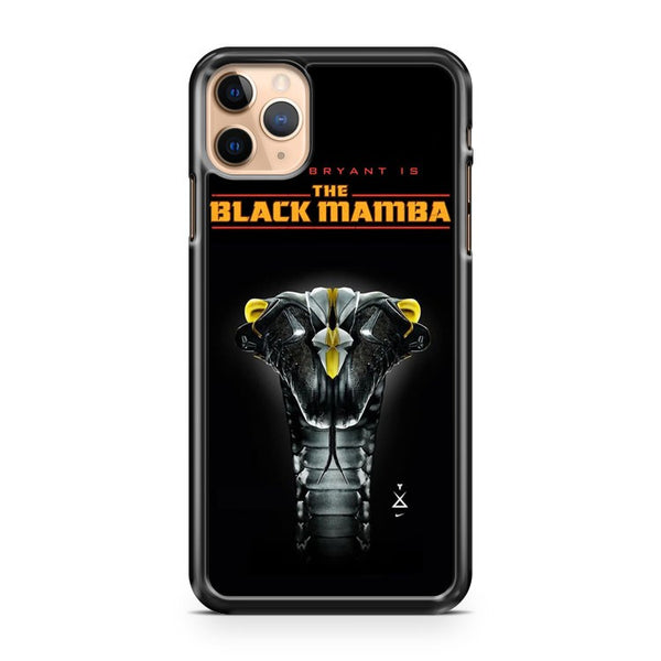 Kobe Bryant Is The Black Mamba iPhone 11 Pro Max Case Cover