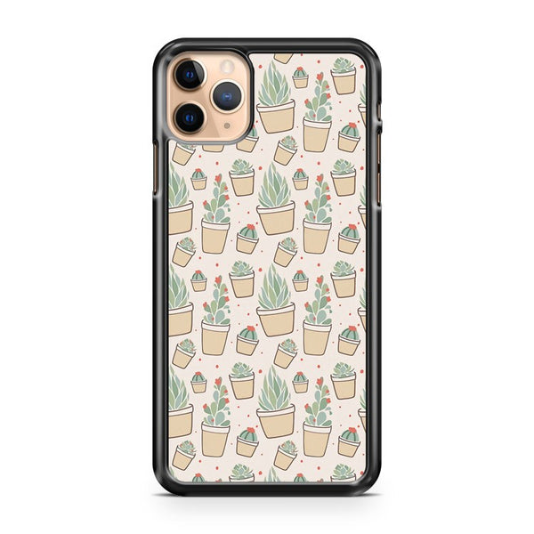 Cactus And Succulent Plants iPhone 11 Pro Max Case Cover
