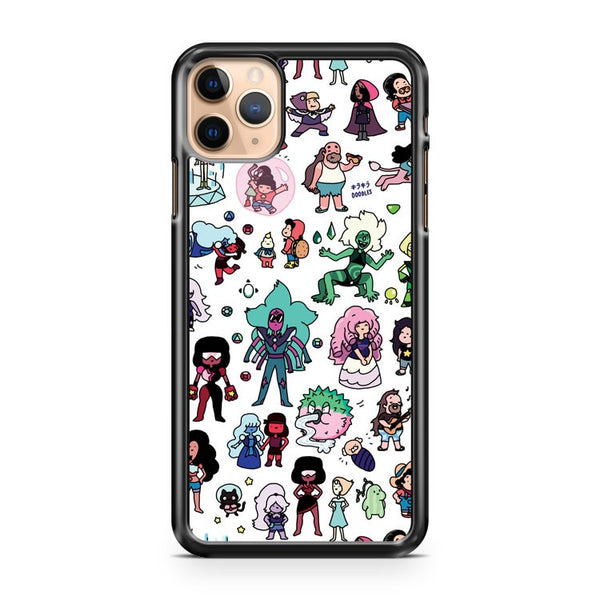 Kawaii Steven Universe Doodle iPhone 11 Pro Max Case Cover
