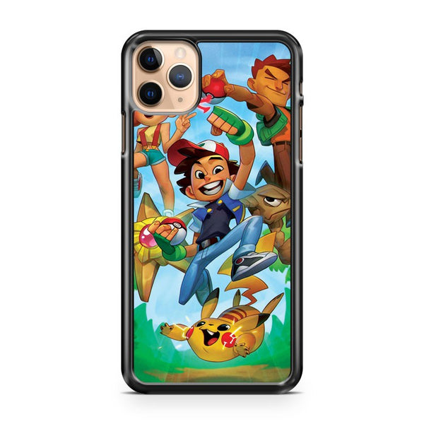 Lets Catch Pokemon iPhone 11 Pro Max Case Cover