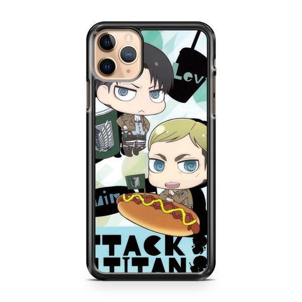 Levin And Erwin Smith iPhone 11 Pro Max Case Cover