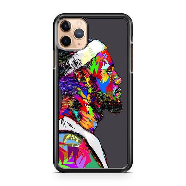 Lebron James Face Art iPhone 11 Pro Max Case Cover