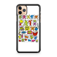 Keith Haring 2 iPhone 11 Pro Max Case Cover