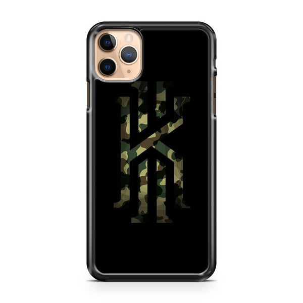 Kyrie Irving Logo Camo iPhone 11 Pro Max Case Cover
