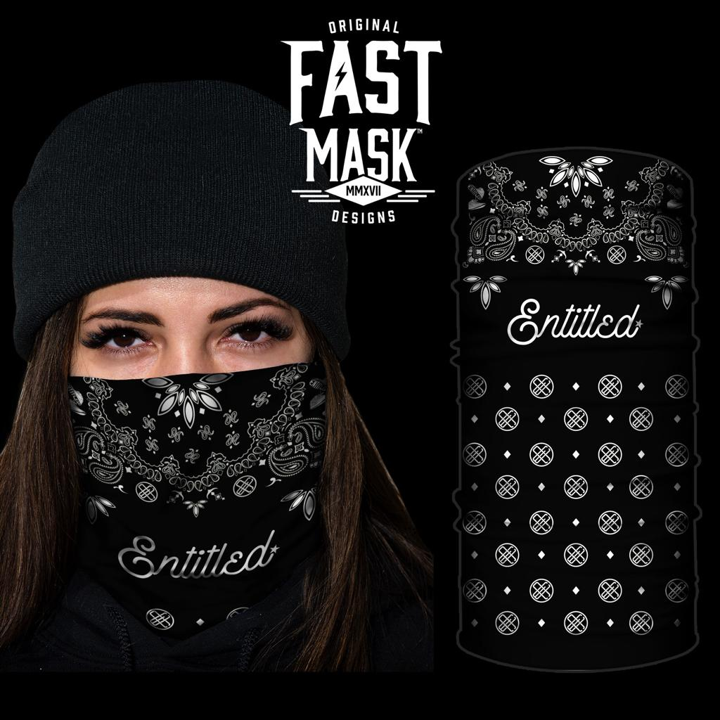 Entitled Clothing Company - Fashion Face Covering - Fast Mask