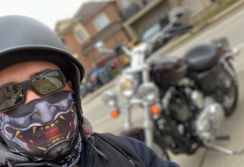 Motorcycle Bike Face Mask