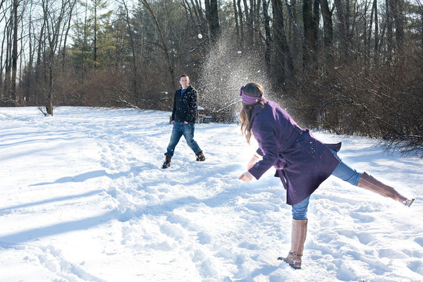 Fast Masks During Winter Family Fun