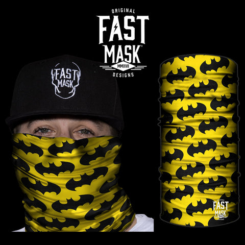 The Bat Signal Face Mask - Fast Mask