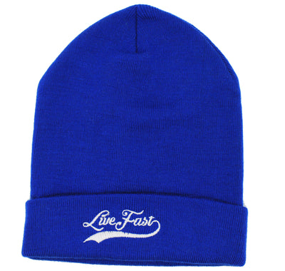 Blue Live Fast Toque - Fast Mask