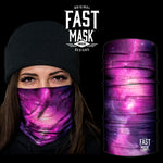 Cosmic Fleece Face Mask - Fast Mask