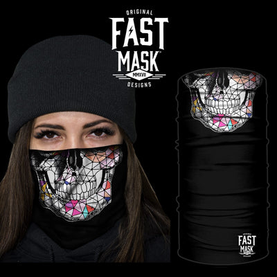 Crystal Skull Face Mask - Fast Mask