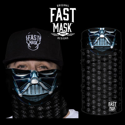 Vader Face Mask * Now With Sewn Edges* - Fast Mask