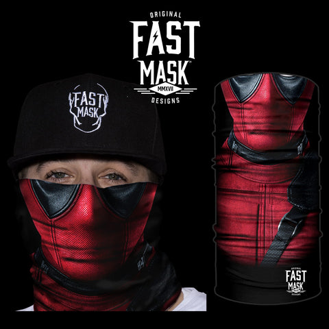 Deadpool Face Mask - Fast Mask