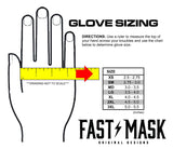 Red Paisley Fast Mask Motocross & Bike Gloves - Fast Mask