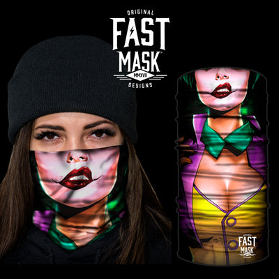 Nothing But Attitude  Fleece Face Mask - Fast Mask