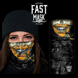 Ginger Beard Fleece Face Mask - Fast Mask