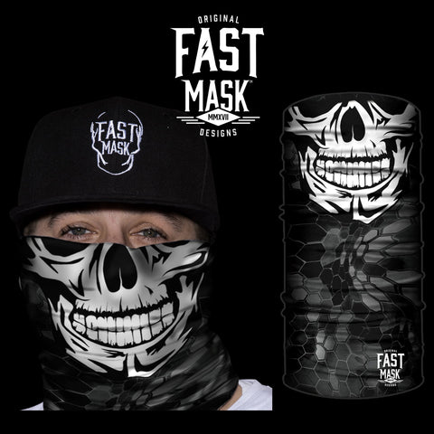 Happy Skull Face Mask - Fast Mask