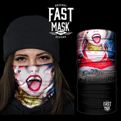 Daddy's Lil Monster - Fast Mask Face Mask - Fast Mask