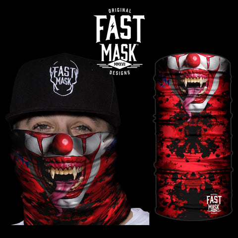 Killer Clown Face Mask - Fast Mask