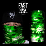 The Mystic Leaf Fleece Face Mask - Fast Mask