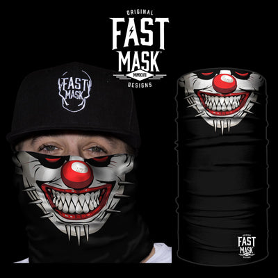 Pin Face Clown Face Mask - Fast Mask