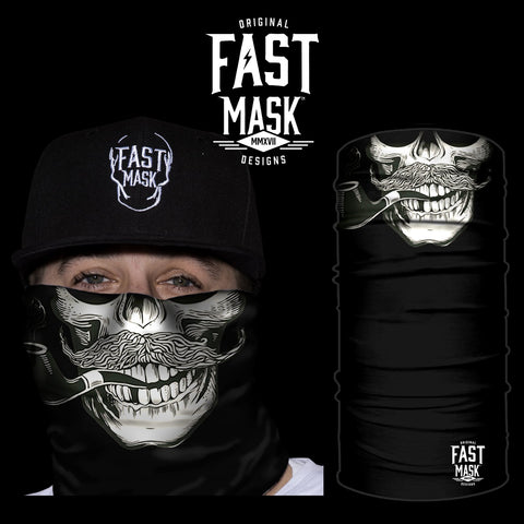 Piped Up Skull Face Mask - Fast Mask