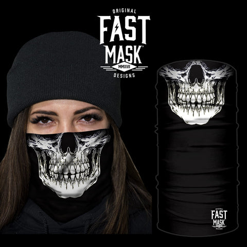 Plain Skull Face Mask - Fast Mask