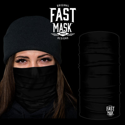 Black Fleece Face Mask - Fast Mask