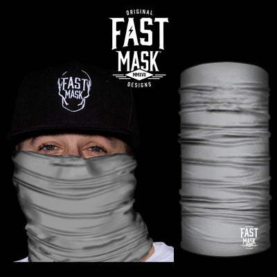 Grey Face Mask - *Now with Sewn Edges* - Fast Mask