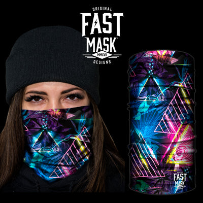 The Prism  Fleece Face Mask - Fast Mask