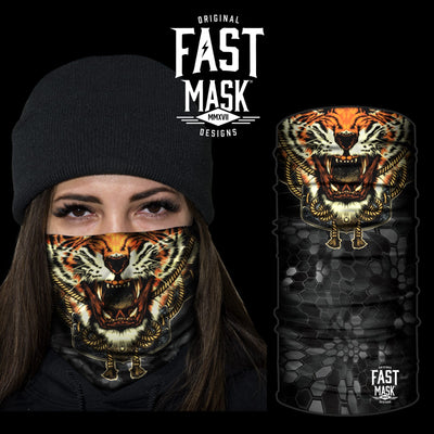 Roaring Tiger Face Mask - Fast Mask