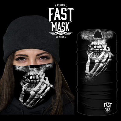 Smoke Till I Die Face Mask * Now with Sewn Edges* - Fast Mask